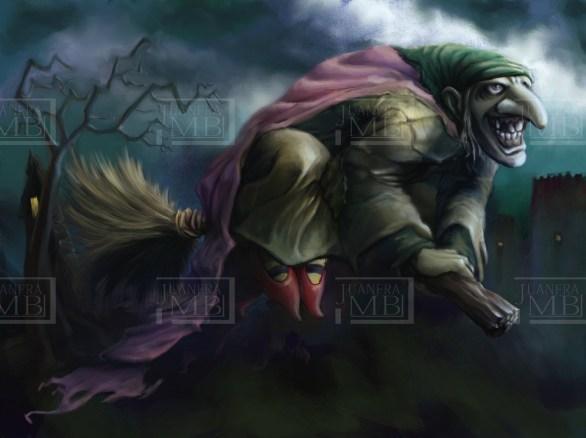 La bruja malvada