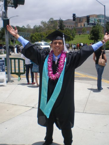 College Graduation from UCI, June 2010