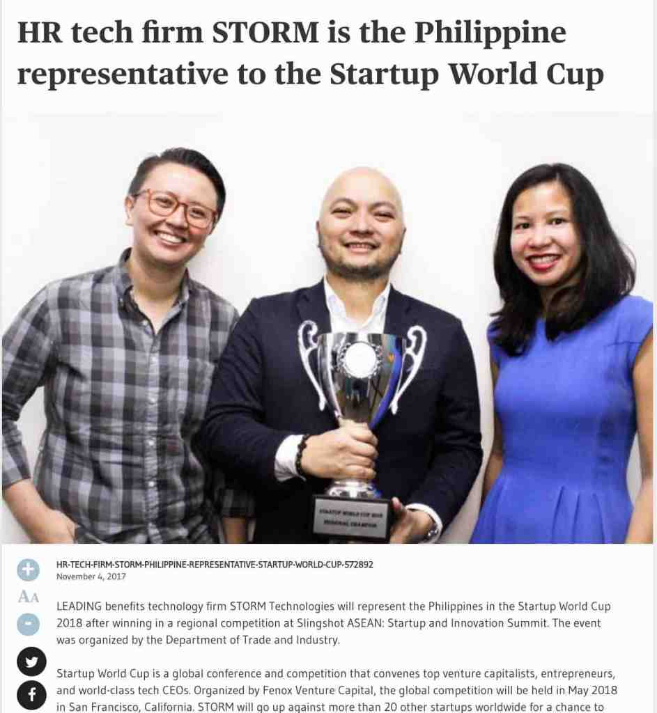 Startup Worldcup News