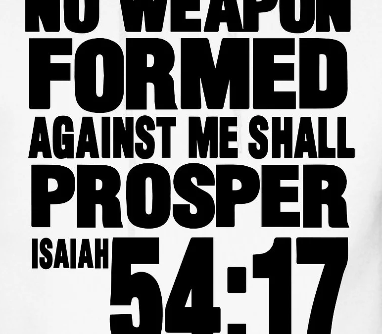 No Weapon Formed Against Me