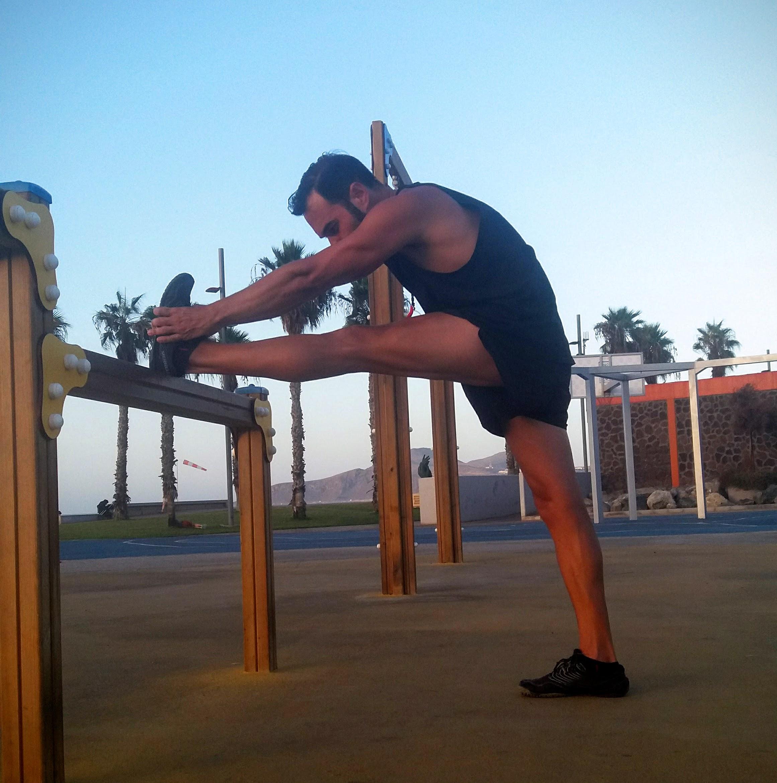 musculos al estirar las piernas
