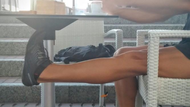 Estirar la pierna