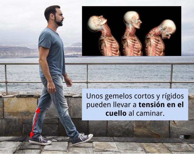 Efecto látigo al caminar