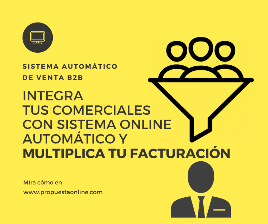 Mira el sistema de integración de venta con marketing online