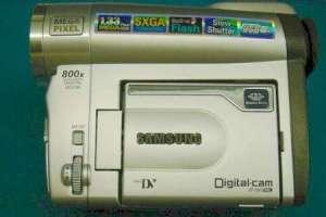 Reparaciones y averias de Video camara Samsung modelo VP-D93