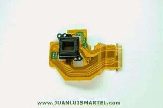 reparación cámaras digitales sustitución de CCD