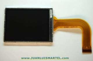 reparación cámaras digitales sustitución de unidad de LCD