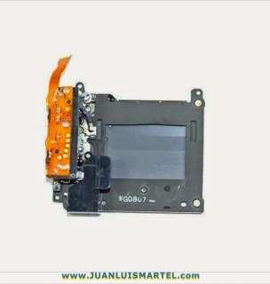 reparación cámaras digitales obturador canon