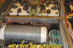 Reparación de amplificador de Alta Potencia , Alta tension.