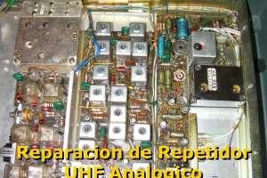 Reparacion de repetidor de UHF Analogico