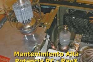 Reparacion y Mantenimiento de equipos de RF, Rayos X