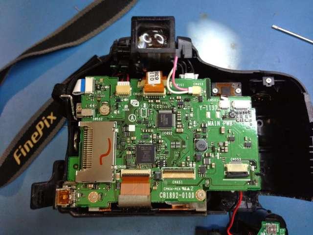 reparar camara digital Fujifilm FinePix