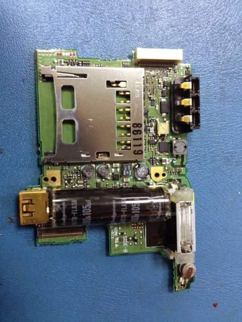 Placa base de camara digital nikon - Servicio Tecnico en Las Palmas