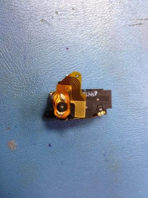 motor de apertura de las cortinillas que protegen la lente en NIKON Coolpix