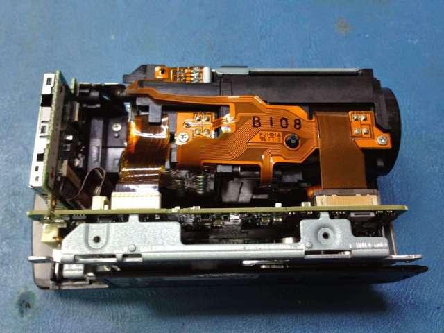 ccd video camara panasonic reparación