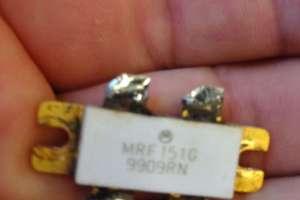 MRF151G Un paso final de FM comercial