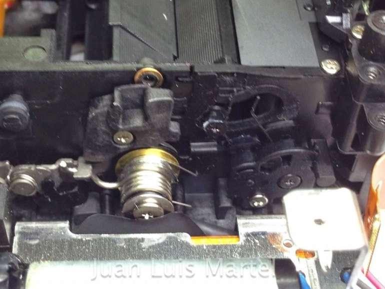 Mecanismo de espejos de camara Canon 5dmk2