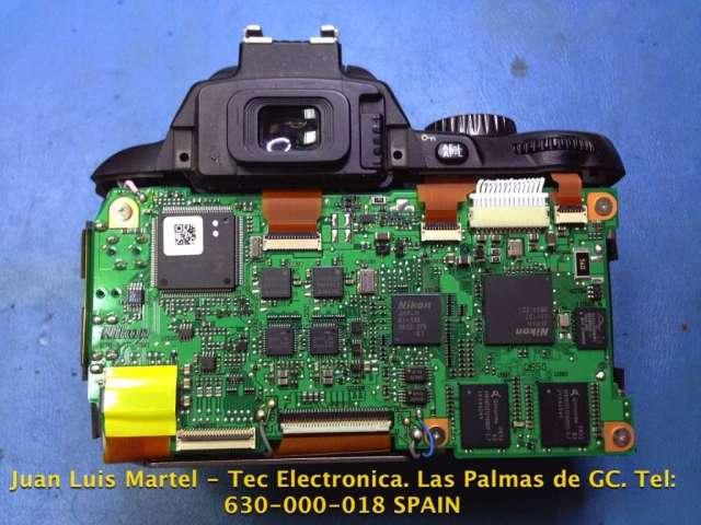 Reparación cámara fotográfica Nikon en las palmas
