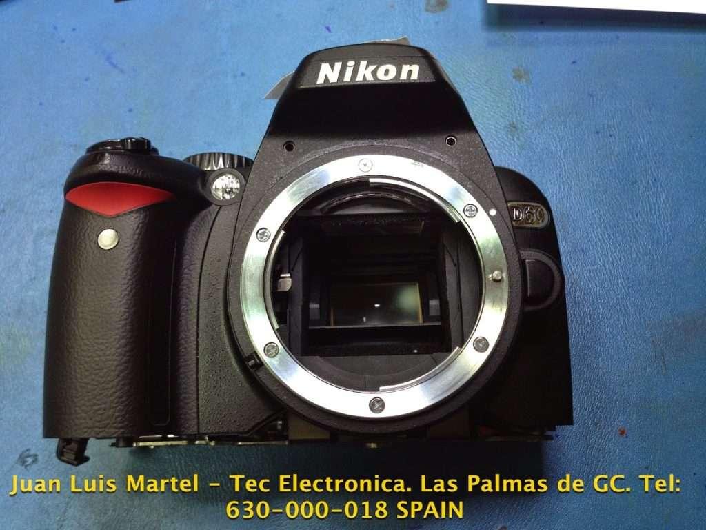 Servicio tecnico camaras Nikon en Las Palmas