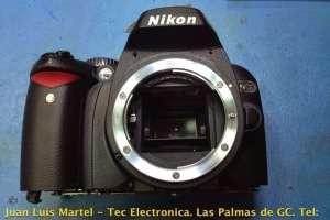 Reparación de Camara de fotos digital NIKON D60