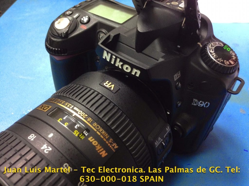Servicio-tecnico-reparacion-camaras-dslr-nikon-D90-IMG_9919-Juan-Luis-Martel-Tecnico-electronica-Las-Palmas-CANARIAS-1024x768