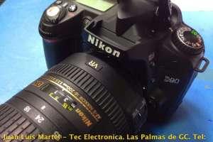 Reparación de unidad de flash en camara Nikon DSLR D90