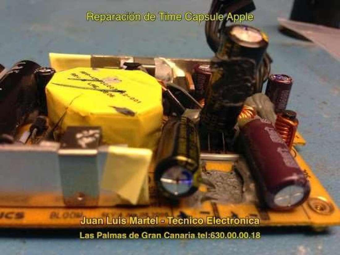 reparar fuente de alimentación apple de time capsule en Las Palmas