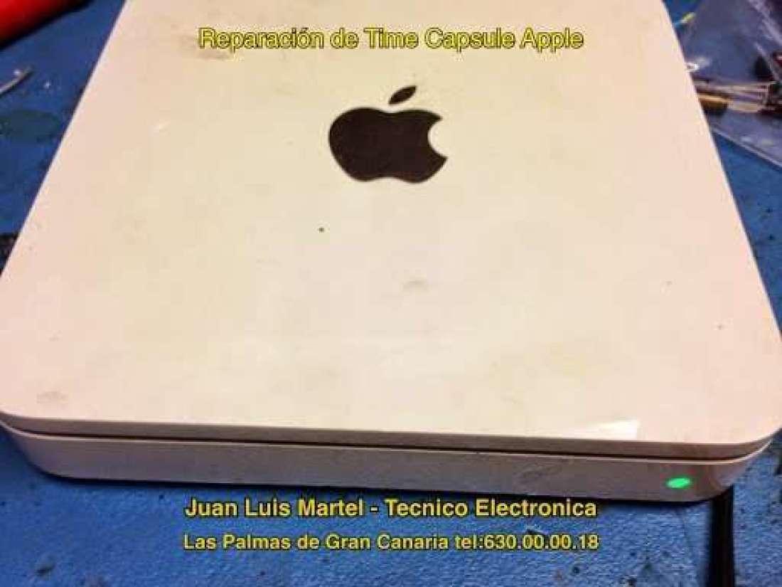 Servicio tecnico - Reparacijon de Time Capsule apple
