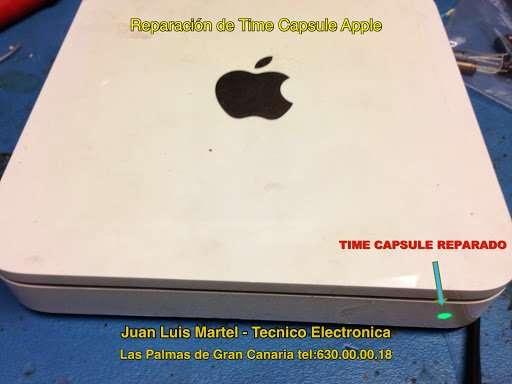 Time Capsule reparado