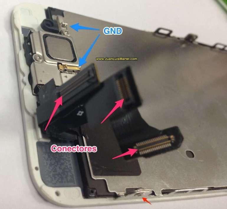 Servicio tecnico iPhone Las Palmas, reparación de iPhone 5s camara frontal