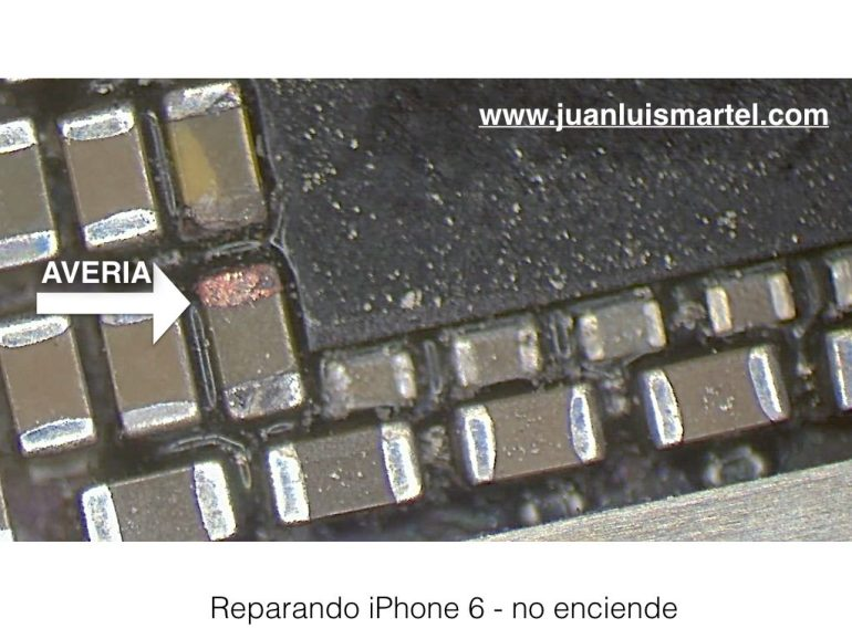 reparar pila iPhone las palmas