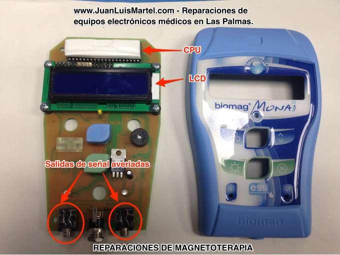 Biomag Monai no funciona una salida, taller en Las Palmas