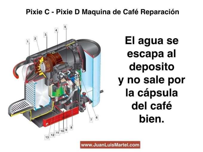 servicio tecnico nespresso reparacion de cafeteras