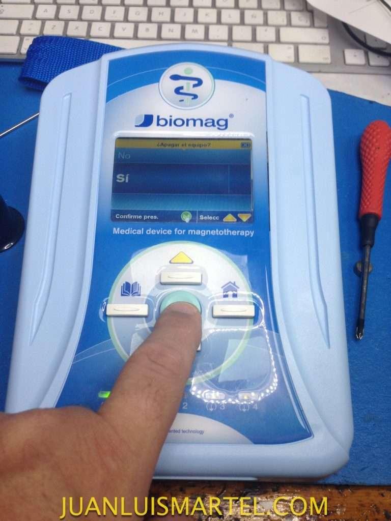 servicio tecnico en las palmas de electro medicina, reparación magnetoterapia