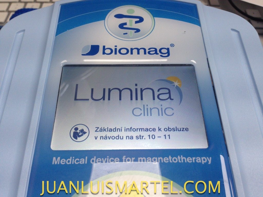 reparación de biomag lumina