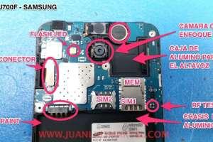 Reparaciones y averias de Video Camara Samsung VP-L800