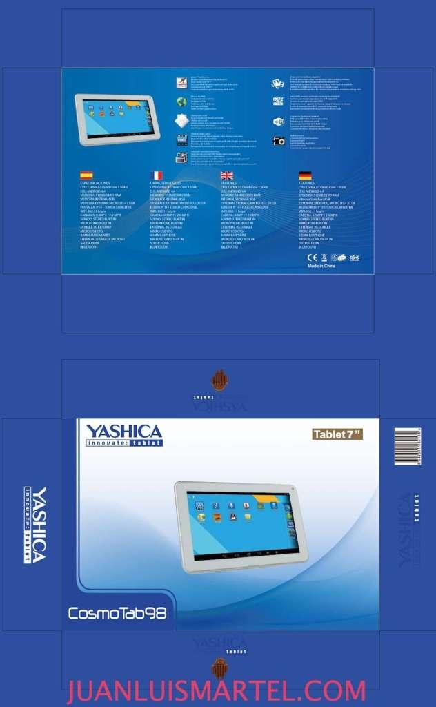 diseño de caja OEM tablet chino android Juan Luis Martel