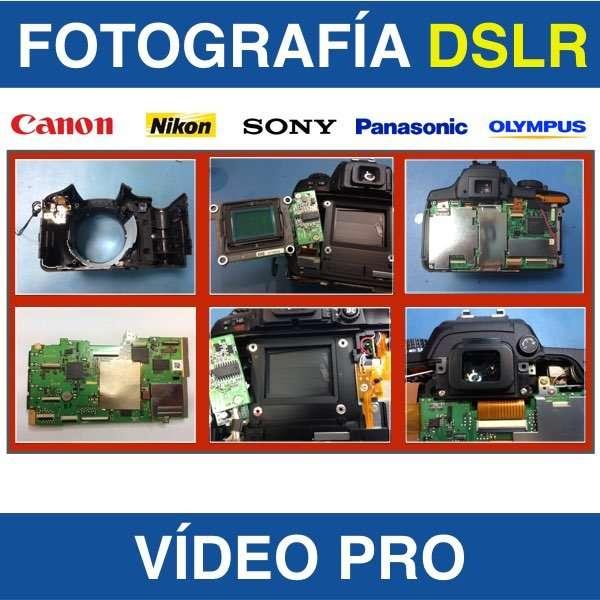 reparar camaras nikon canon servicio técnico dslr - Las Palmas