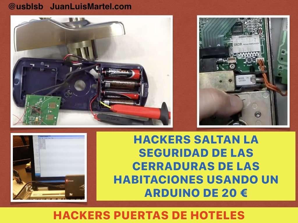 hackers abren las cerraduras de proximidad usando un arduino