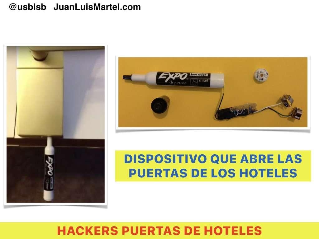hackers abren cerraduras de hoteles