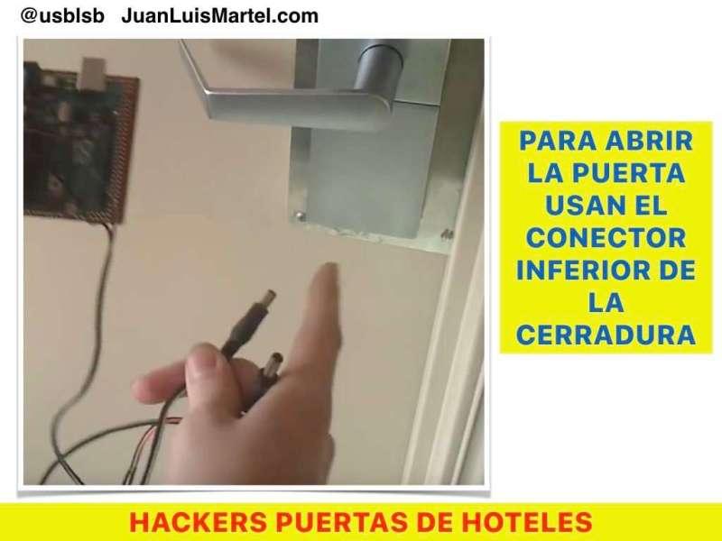como proteger una cerradura de hotel
