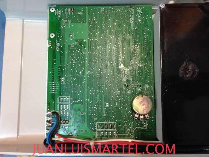 Vista del PCB o circuito del Clorador Salino Promatic de Monarch