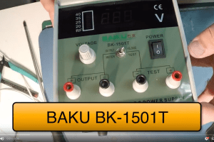 BAKU BK 1501T Teardown y Reviews