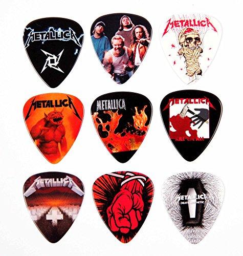 Metallica Paquete selecciones de guitarra de 9 púas Premium