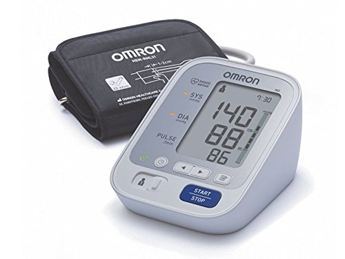 Omron M3 - Monitor de presión arterial automático de brazo, color blanco