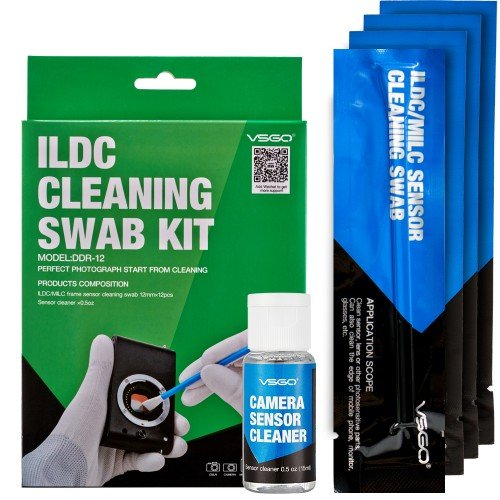 Kit de limpieza vsgo para M4/3 12 Swab + 15 ml Sensor Cleaner