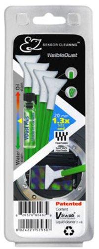 Visible Dust EZ Sensor Cleaning Kit for 1.3x Sensors - 1ml VDust & 4 Green Swabs