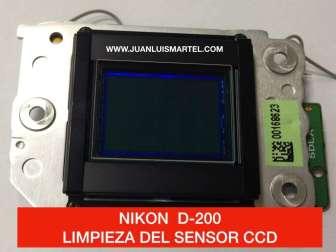 limpieza sensor ccd nikon