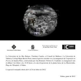 Invitación En Pessoa en Palma