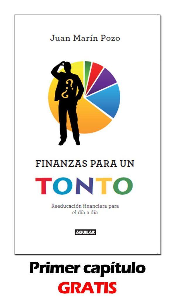 Portada ''Finanzas para un tonto'' para descargar pdf en blog